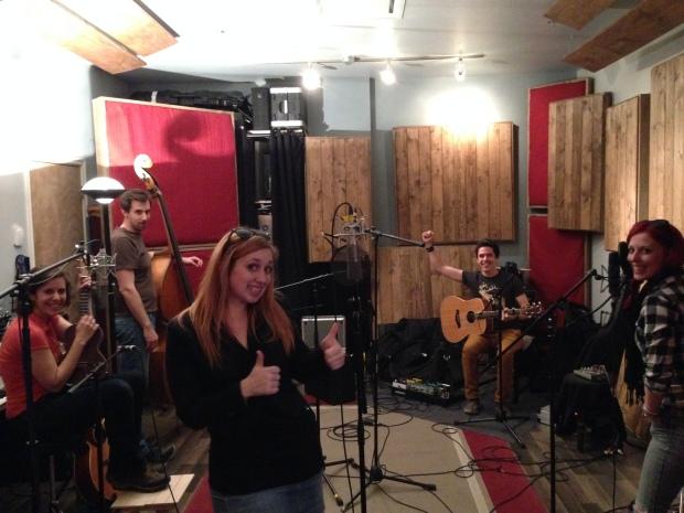 Mai 2014 - Studio!