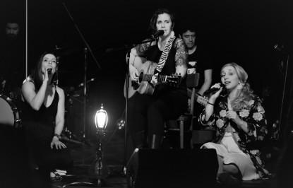 Les Bouches Bées - lancement d'album Compte à rebours - mars 2018 - Country folk 24