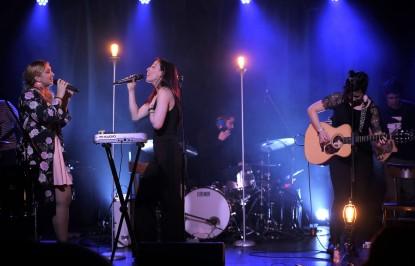 Les Bouches Bées - lancement d'album Compte à rebours - mars 2018 - Country folk 40